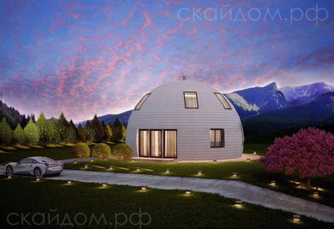 Купольные дома от российской компании | галерея [1] фото [5]