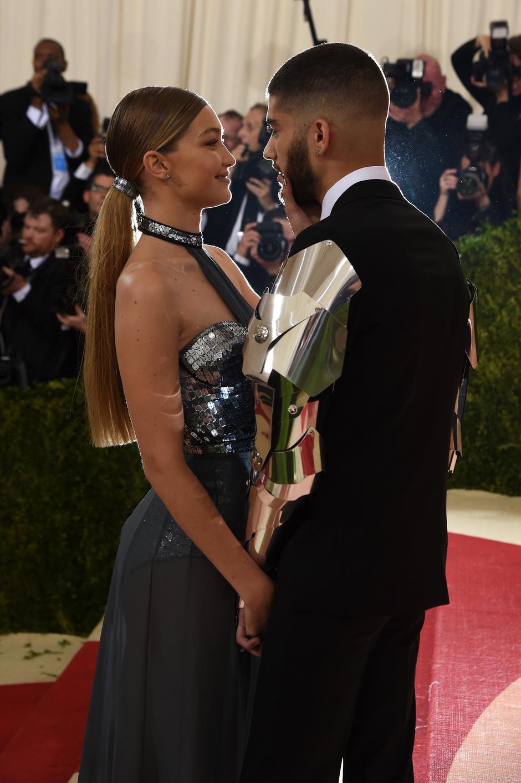 Джиджи Хадид и Зейн Малик на Met Gala