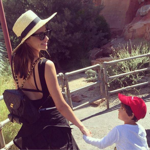 Миранда Керр с сыном