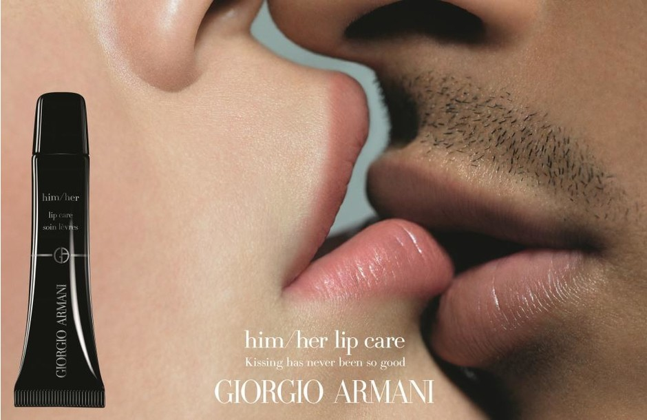 С заботой о губах: Giorgio Armani Beauty представил средство-унисекс