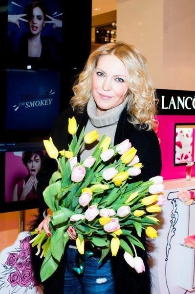 Знаменитости встретили весну в корнере Lancôme | галерея [1] фото [6]