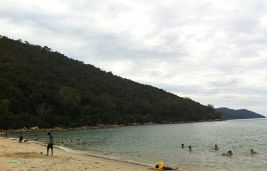 Пляж Пенанга