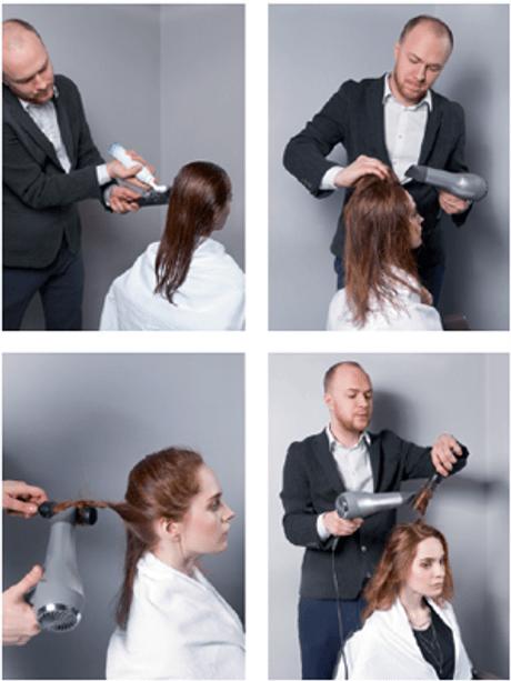 Укладка для тонких вьющихся волос. Линия NIOXIN 3D