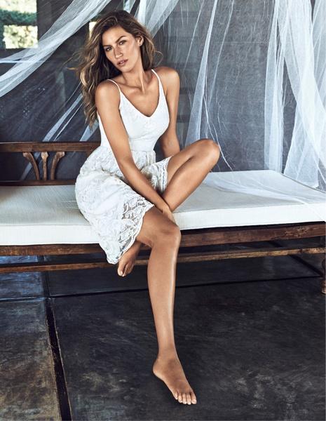 H&M представил полную версию рекламной кампании с Жизель Бюндхен