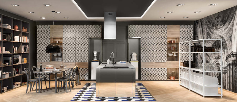 Новая кухня Neo Salon от Nolte