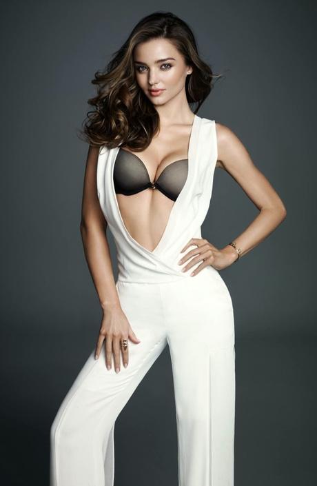 Миранда Керр снялась в новой рекламной кампании Wonderbra