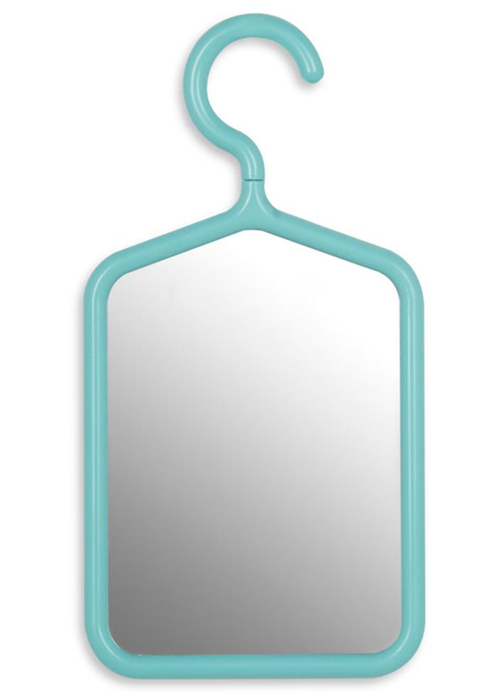 Подвесное зеркало на крючке
