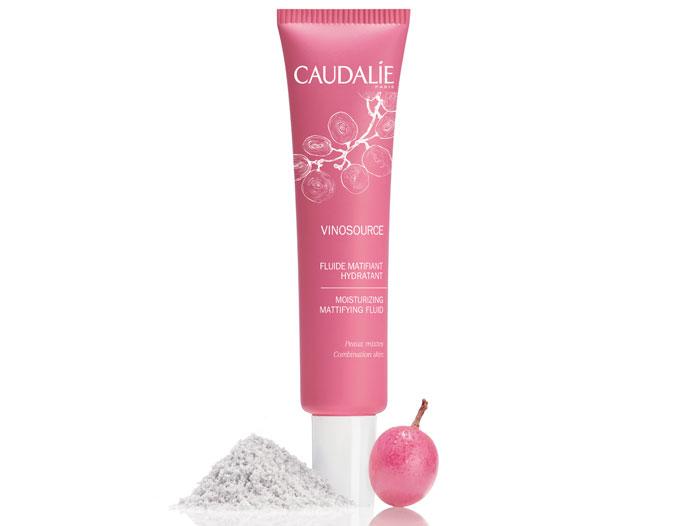 Caudalie Vinosource Moisturizing Mattifying Fluid матирующее средство для лица