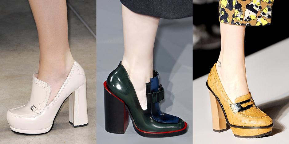 Броги на каблуках
