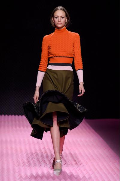 Показ Mary Katrantzou на Неделе моды в Лондоне | галерея [1] фото [15]