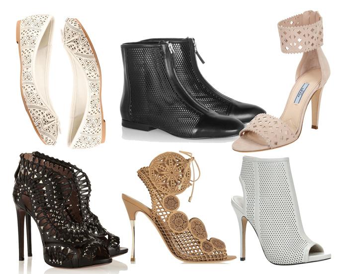 Перфорация Модная обувь сезона весна лето 2014: тренды, фото лучших моделей.