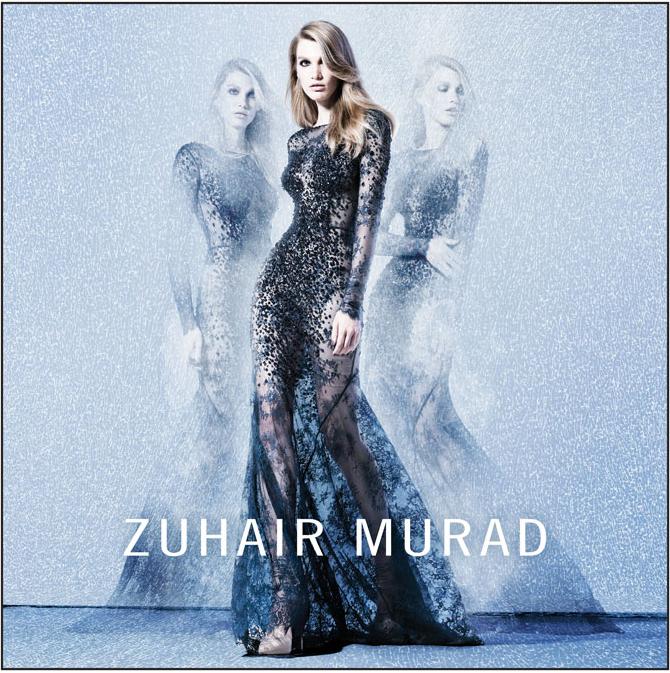 Кружевное платье от Zuhair Murad