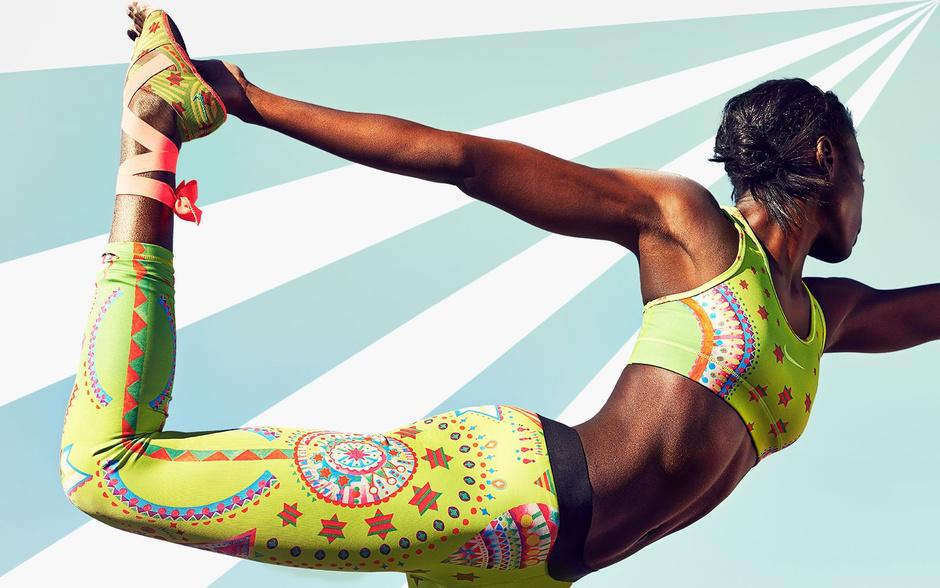Nike Tight Of the Moment модная одежда для спорта