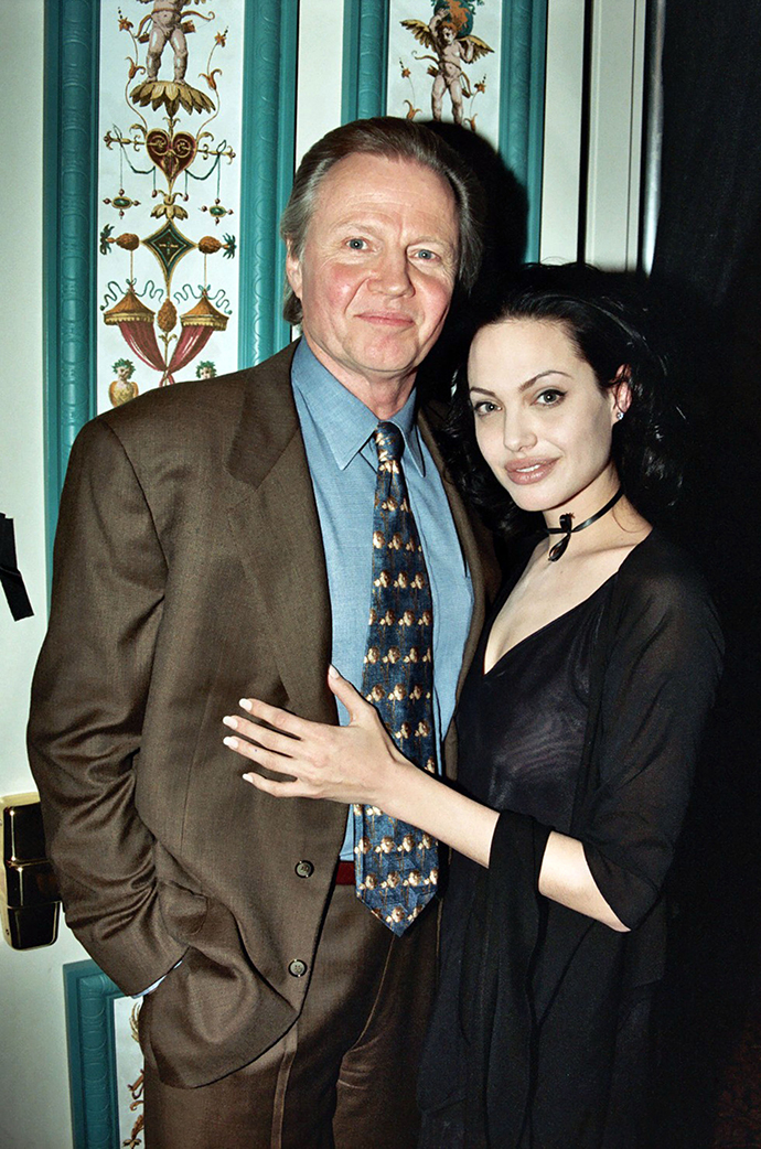 Джон Войт и Анджелина Джоли
