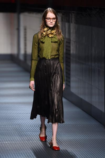 Показ Gucci на Неделе моды в Милане | галерея [1] фото [3]