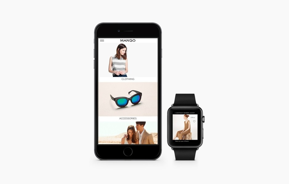 Бренд Mango выпустил приложение для Apple Watch