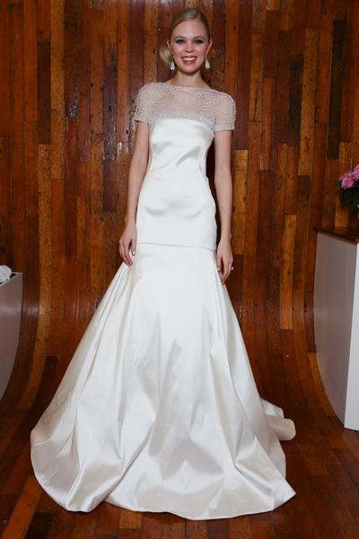 50 самых красивых платьев со Свадебной Недели Моды в Нью-Йорке | галерея [1] фото [17]