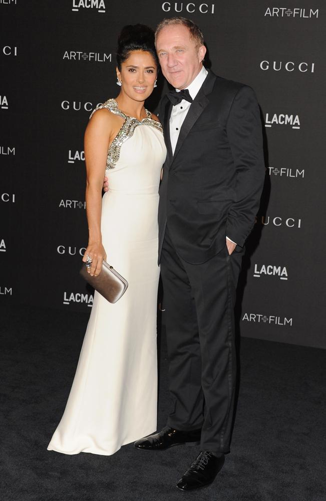 Сальма Хайек с мужем: фото 2014