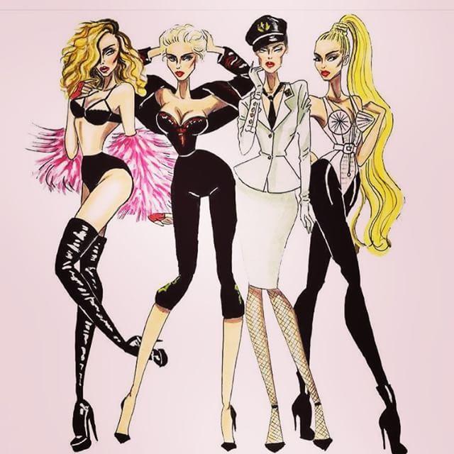 Наряды Мадонны: фото