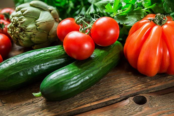 Водосодержащие овощи