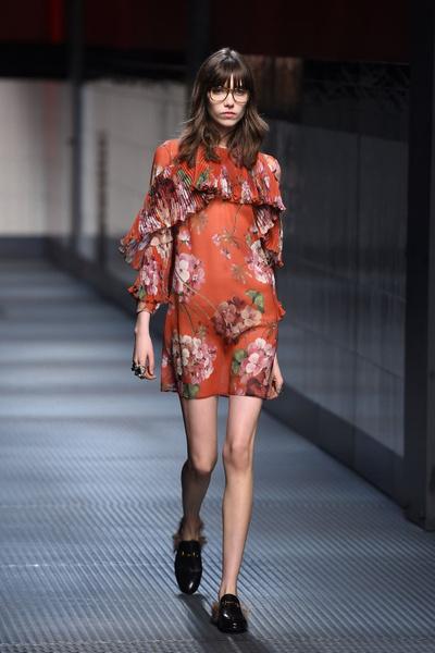 Показ Gucci на Неделе моды в Милане | галерея [1] фото [19]