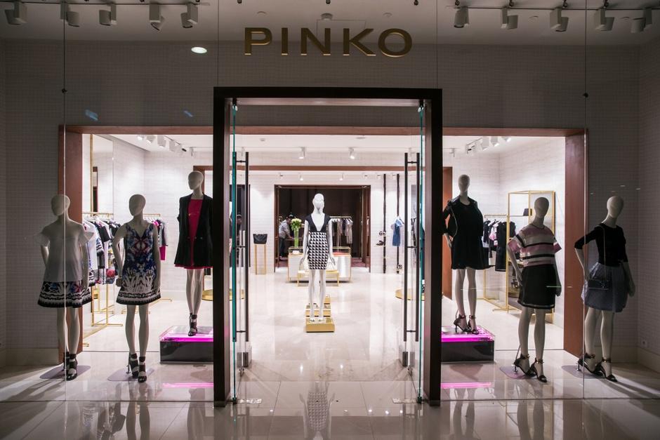 Бренд Pinko открыл флагманский бутик в Москве