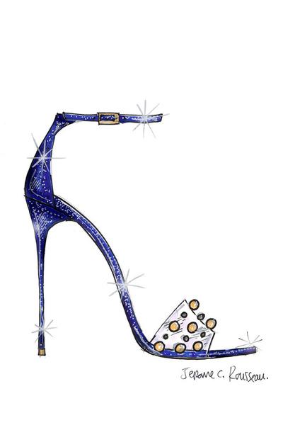 Известные дизайнеры обуви представили свои версии туфель Золушки   галерея [1] фото [6]