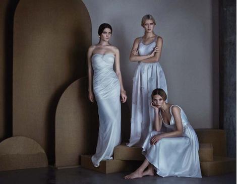 ЗАМУЖ НЕВТЕРПЕЖ: 10 самых красивых свадебных коллекций сезона | галерея [5] фото [4]