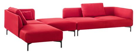 Модульный диван Liv, Wittmann, www.wittmann.at, галереи Neuhaus, салоны «Интерьеры Экстра Класса».