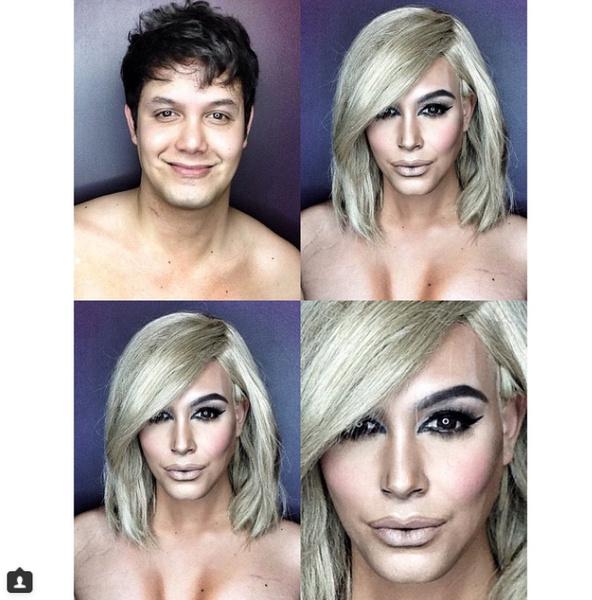 Филиппинский визажист перевоплотился в звезд с помощью макияжа | галерея [1] фото [2]