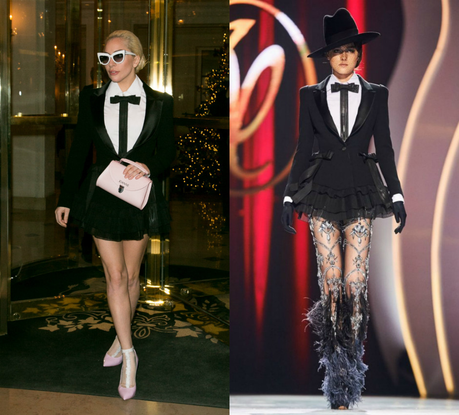 Леди Гага // Показ Valentin Yudashkin Haute Couture