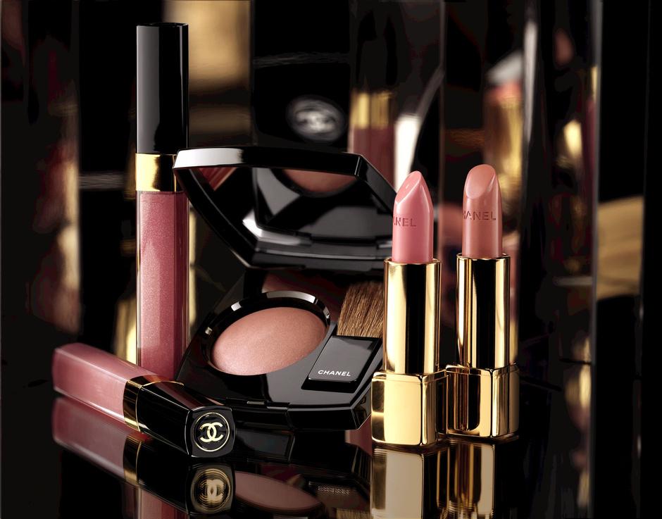 рождественская коллекция макияжа шанель 2014