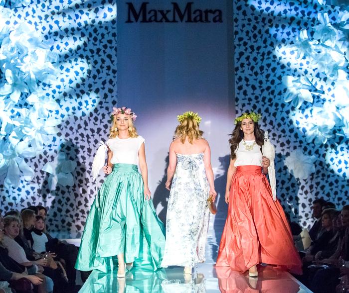 Цветочная война: Max Mara и Sportmax на BOSCOSFASHIONWEEK