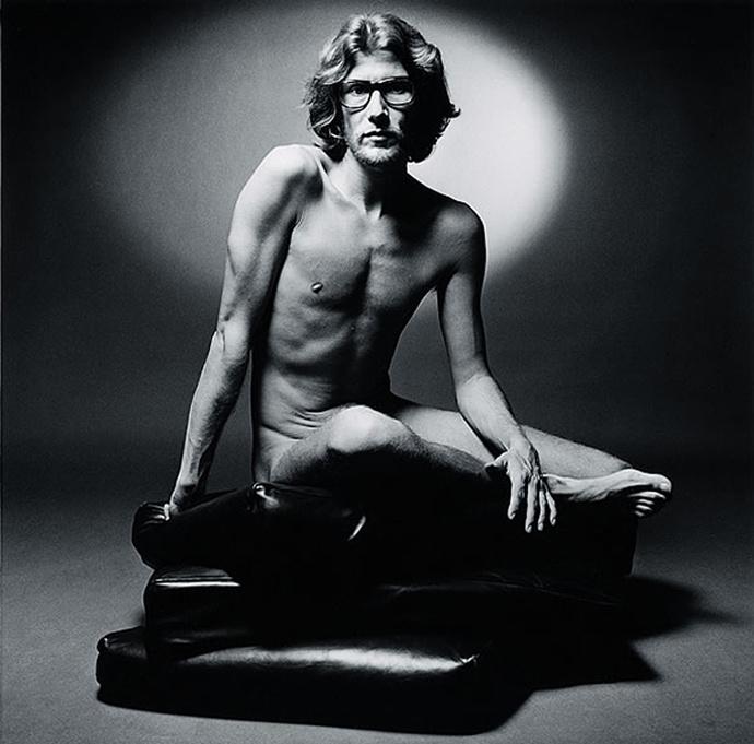 Ив Сен Лоран в рекламной кампании Pour Homme, Yves Saint Laurent