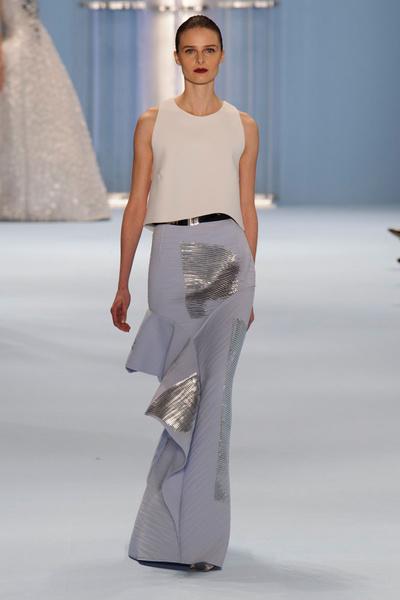 Black tie: показы Carolina Herrera, Reem Acra и Zac Posen на Неделе моды в Нью-Йорке | галерея [2] фото [5]
