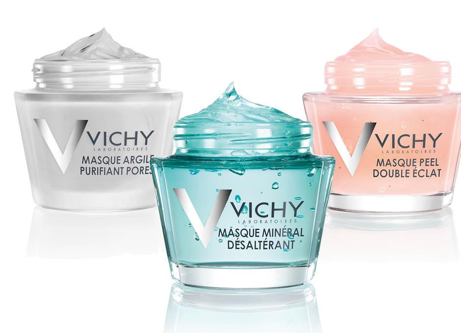 Vichy Минеральные маски
