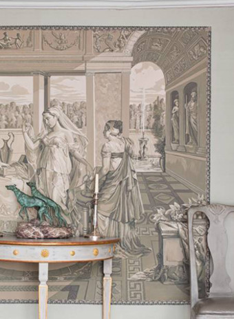 Коллекция Cupid & Psyche марки de Gournay