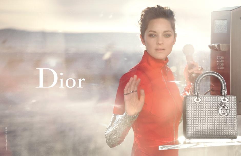 Марион Котийяр для Christian Dior