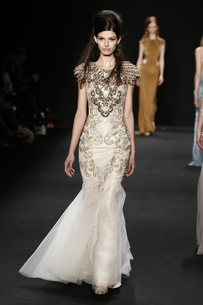 Самые роскошные вечерние платья Недели моды в Нью-Йорке | галерея [1] фото [2]