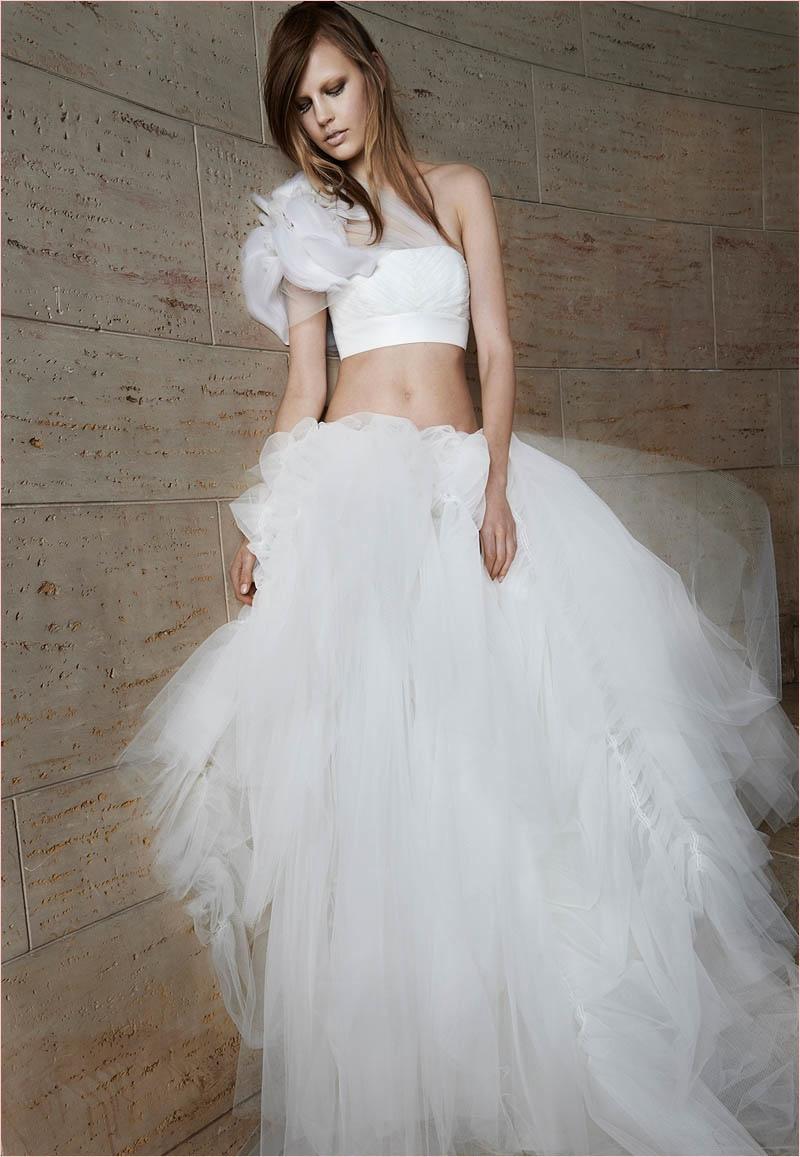 Модное свадебное платье 2014