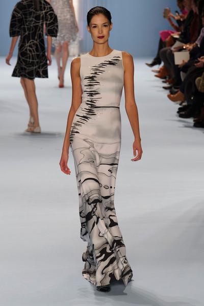 Black tie: показы Carolina Herrera, Reem Acra и Zac Posen на Неделе моды в Нью-Йорке | галерея [2] фото [10]