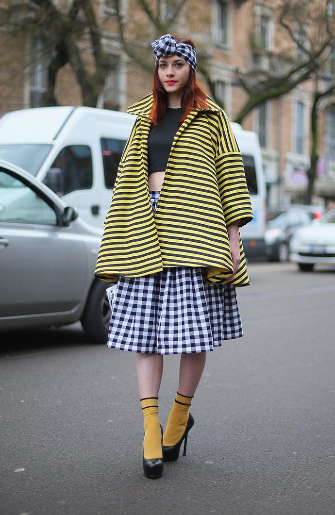 модный тренд туфли с носками