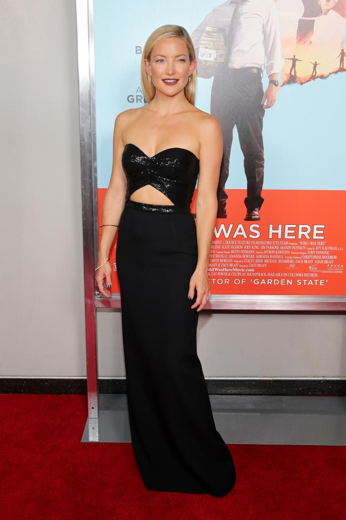 Стиль Кейт Хадсон: красивые вечерние платья