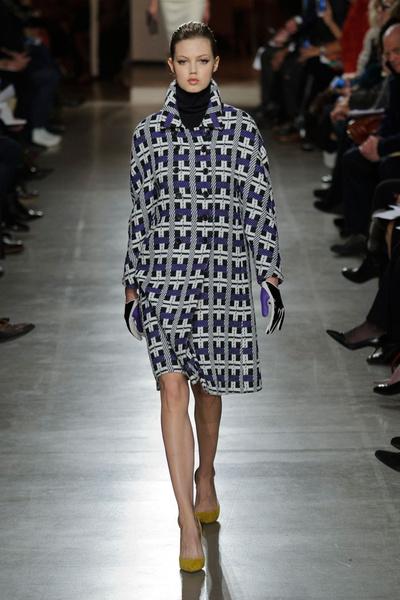 Показ Oscar de la Renta на Неделе моды в Нью-Йорке | галерея [1] фото [33]