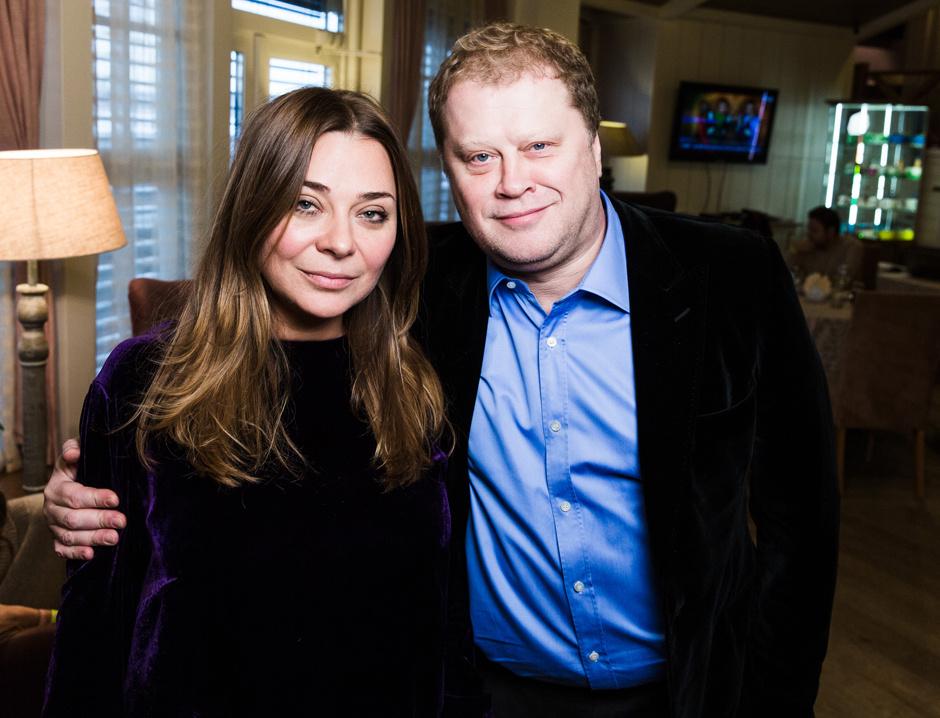 Наталья Лучанинова и Владимир Аненков