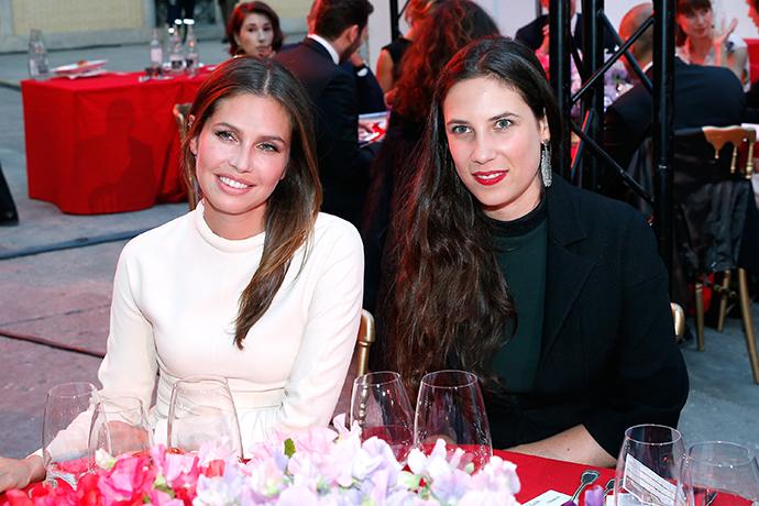 Дарья Жукова и Татьяна Санто-Доминго
