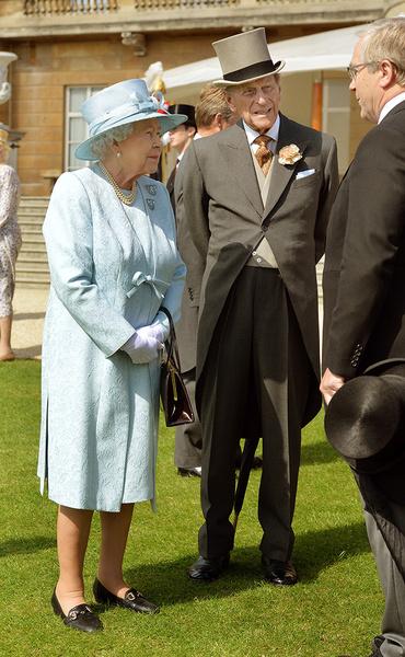 Королева Елизавета II и герцог Филипп