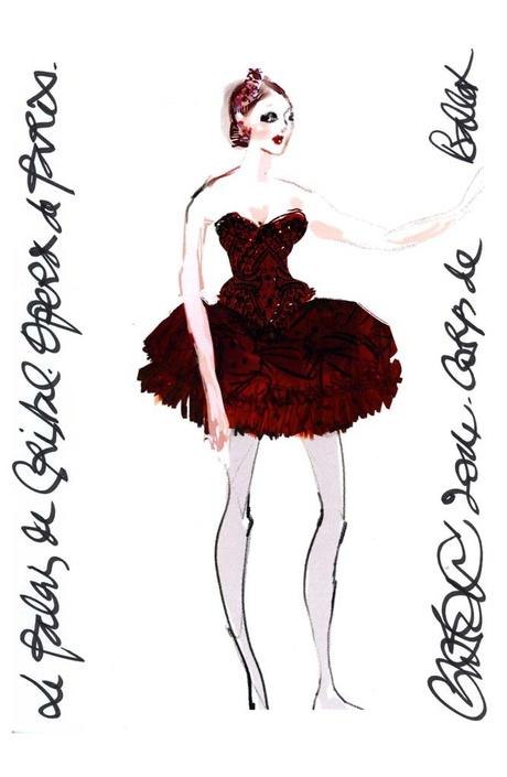 Кристиан Лакруа создал костюмы для труппы Парижского балета