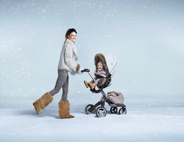Stokke представляет коллекцию зимних комплектов для колясок