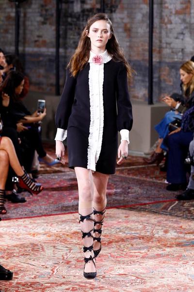 Дом Gucci представил новую круизную коллекцию 2016 | галерея [2] фото [56]